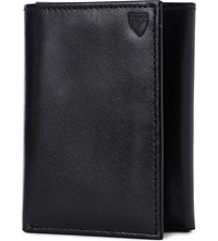 Aspinal Of London Trifold Leather Wallet Black