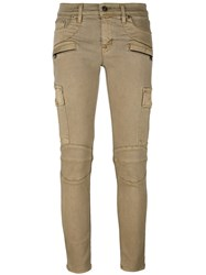 Hudson Skinny Jeans Nude And Neutrals