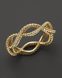 Roberto Coin 18K Yellow Gold Single Row Twisted Ring Bloomingdale's Exclusive