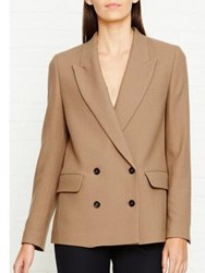 Paul Smith Ps By Double Breasted Jacket Camel
