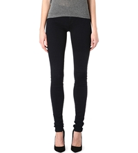 J Brand 624 Stacked Super Skinny Mid Rise Jeans Blue Bird
