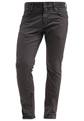 Knowledge Cotton Apparel Tom The Nail Slim Fit Jeans Dark Grey Dark Gray
