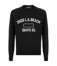 Dsquared L.A. Beach Sweatshirt Black