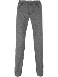 Jacob Cohen Skinny Fit Trousers Grey