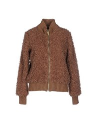 Soho De Luxe Coats And Jackets Jackets Women Brown