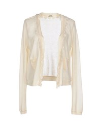 Molly Bracken Knitwear Cardigans Women Beige