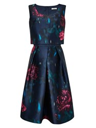 Jacques Vert Lux Moonlight Prom Dress Navy