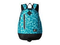 Nike Young Athletes Cheyenne Print Backpack Rio Teal Black Matte Silver Backpack Bags Blue