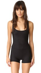 Only Hearts Club Second Skins Tank John Romper Black