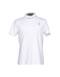 Trussardi Jeans Polo Shirts White