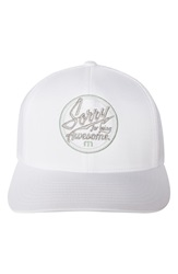 Travis Mathew 'Nubie' Snapback Hat White