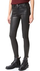 Current Elliott Stiletto Leather Pants Black