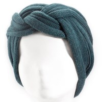 Emmelab Twist Headband Peacock Blue