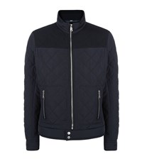 Bogner Quilted Jacket Male Navy