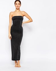 Wolford Stardust Slip Dress Black