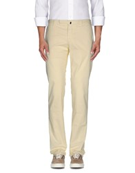 Incotex Trousers Casual Trousers Men Light Yellow