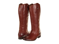 Frye Melissa Button Boot Extended Cognac Extended Soft Vintage Leather Cowboy Boots Mahogany