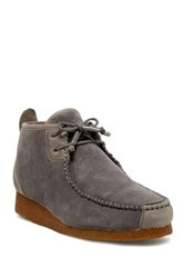 Australia Luxe Collective Lucan Genuine Shearling Lined Chukka Moc Boot Gray
