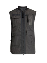 Adidas By Day One Utility Waterproof Padded Gilet Grey