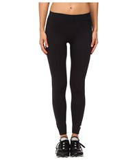 Adidas By Stella Mccartney Essentials Seamless Mesh Tights Ap7094 Black Women's Casual Pants