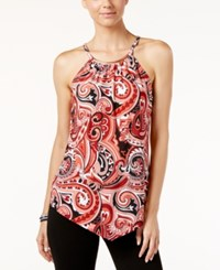 Inc International Concepts Paisley Print Halter Top Only At Macy's Dancing Paisley