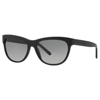 Burberry Be4176 Wayfarer Plastic Sunglasses Black