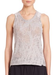 Koral The Day After Yesterland Static Tank Top Heather Grey