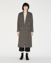 Isabel Marant Flint Coat Anthracite