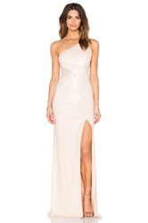 Jay Godfrey Barker Maxi Dress Beige