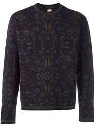 Antonio Marras Floral Crew Neck Sweater