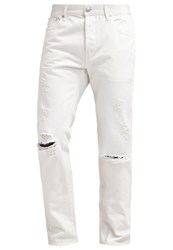 Earnest Sewn Allen Slim Fit Jeans White White Denim