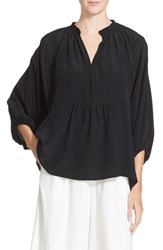Women's Apiece Apart 'Santa Clara' Silk Tunic Top