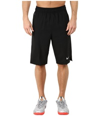 Nike Hyperelite Quick Shorts Black Black Black Metallic Silver Men's Shorts