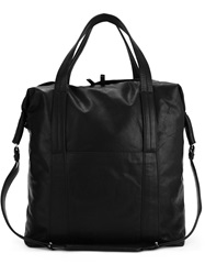 Maison Martin Margiela Maison Margiela Medium Distressed Tote Black