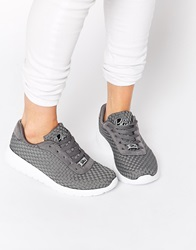 Blink Ronin Weave Trainers Grey