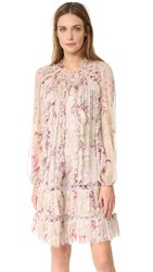 Zimmermann Winsome Sphere Dress Mink Sunbleach Floral