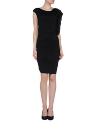 Hope Collection Short Dresses Black