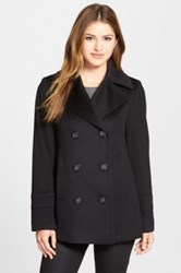 Fleurette Wool Peacoat Black