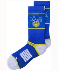 Strideline San Francisco City Socks Ii Blue Yellow