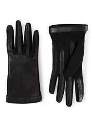 Lanvin Short Jersey Gloves Black