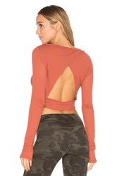 Free People Battu Cover Up Top Burnt Orange