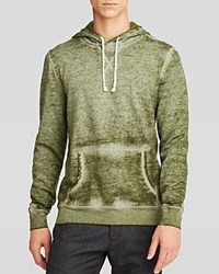 Threads For Thought Burnout Pullover Hoodie Bronze Green