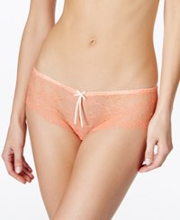 Heidi By Heidi Klum French Lace Hipster H308 1166B Only At Macy's Fusion Coral Pristine