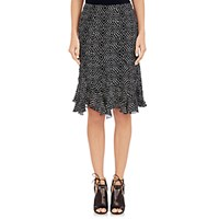 L'agence Women's Georgette Bella Skirt No Color