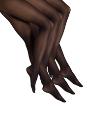 S.Oliver 3 Pack Fashion Tights Tights Black