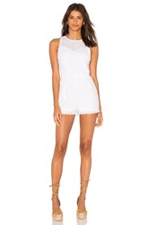 Bb Dakota Maryam Romper White