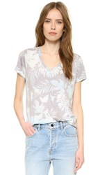 Sol Angeles Sahara Flora V Neck Tee