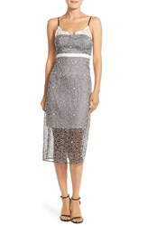 Women's Tracy Reese Embroidered Silk Slipdress