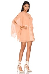 Keepsake Step Back Dress Peach