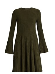 Sportmax Kibbutz Dress Dark Green